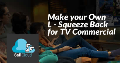 Safi Cloud • Squeeze Back for TV Commercial