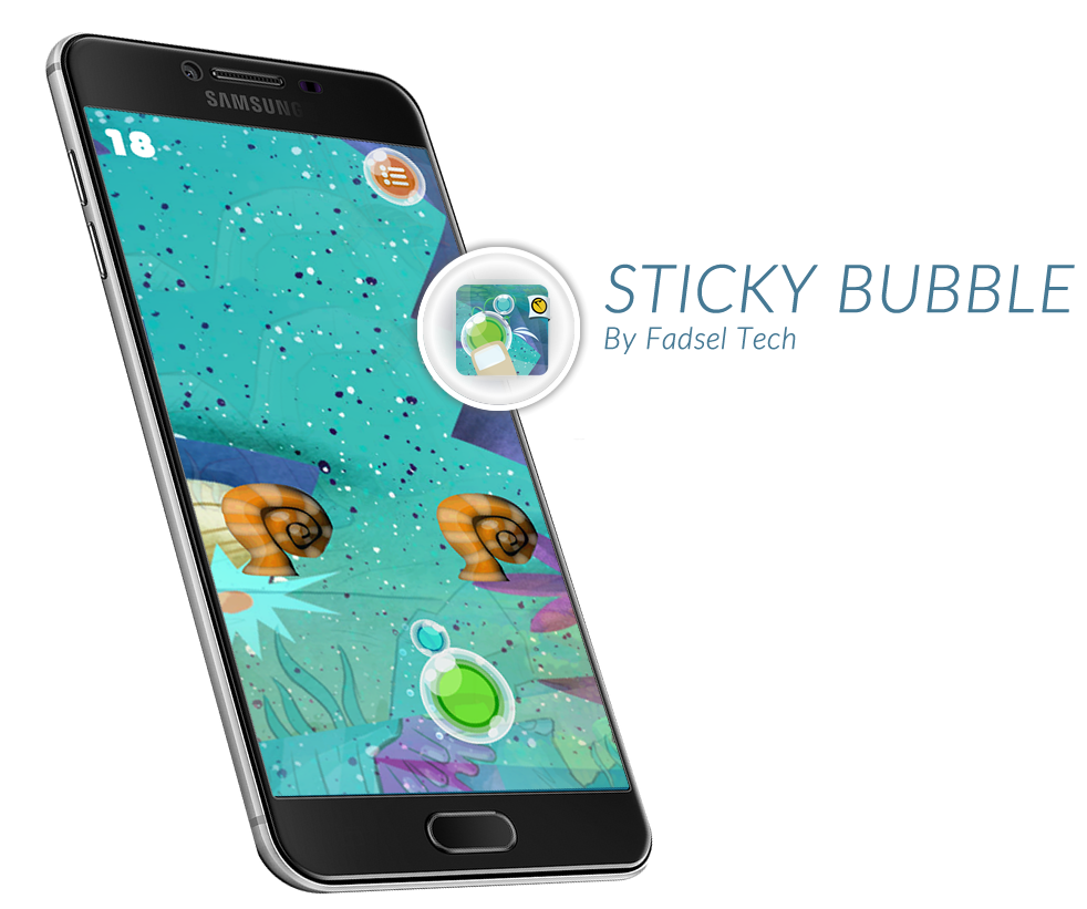 Sticky Bubble Screenshot